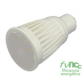 Dicroica led dimable 8 W.